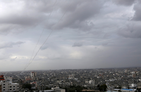 Rockets fired from Gaza (Photo: AP)
