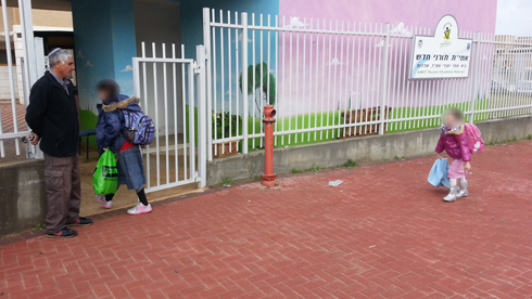 לימודים כרגיל בשדרות, הבוקר (צילום: רועי עידן) (צילום: רועי עידן)