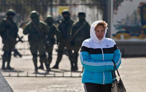 Russian troops in Crimea (Photo: AP) (Photo: AP)