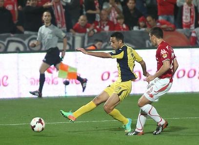 זהבי מבקיע (צילום: ראובן שוורץ) (צילום: ראובן שוורץ)