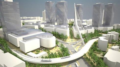 הדמיות עתידיות של הכניסה לעיר. סגנון אירופי או ניו-יורקי? ()