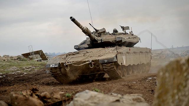 IDF forces near Syrian border (Photo: IDF Spokesperson's Unit)