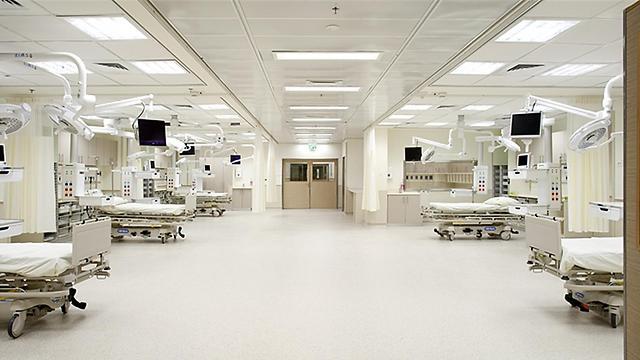 Rabin Medical Center's new ER (Photo: Binyamin Adam)