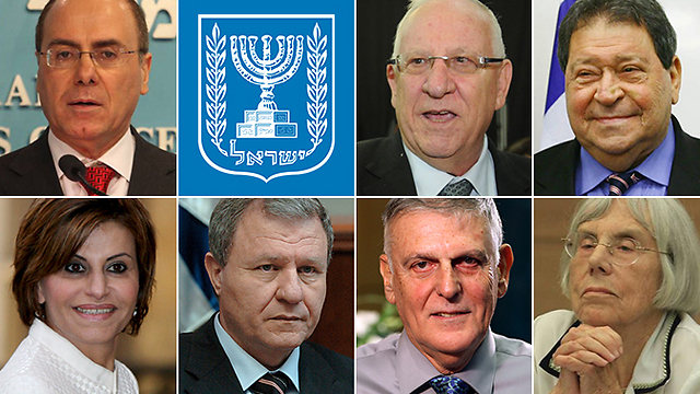 The leading contenders to replace Peres (Photo: Sason Tiram, Yaron Brener, Gil Yohanan, Photo: Avishag Shaar-Yashuv, Meir Azulay, EPA) (Photo: Sason Tiram, Yaron Brener, Gil Yohanan, Photo: Avishag Shaar-Yashuv, Meir Azulay, EPA)
