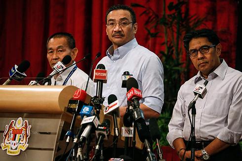 תקשורת לקויה. מסיבת עיתונאים של מלזיה (צילום: רויטרס) (צילום: רויטרס)
