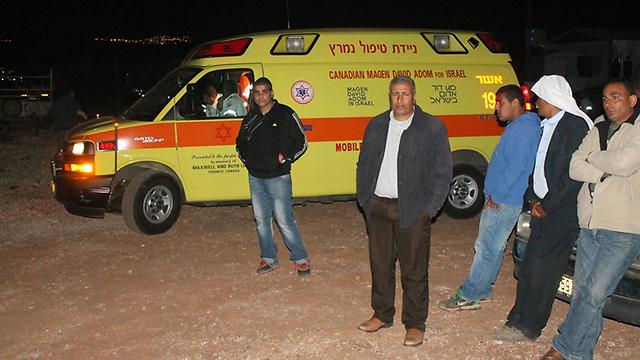 קרובי משפחה המומים (צילום: אתר אל ערב) (צילום: אתר אל ערב)