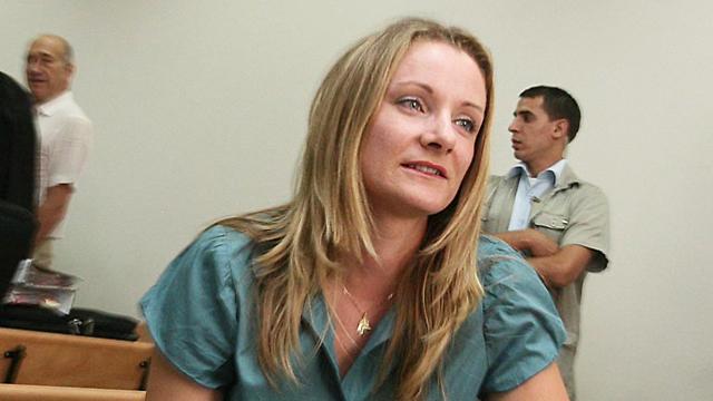 רייצ'ל ריסבי. העדה המרכזית בפרשת ראשונטורס (צילום: גיל יוחנן) (צילום: גיל יוחנן)