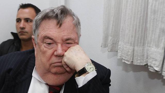 עד המדינה דכנר. מת במהלך המשפט (צילום: גיל יוחנן) (צילום: גיל יוחנן)