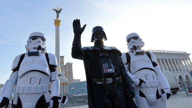 קבלו את ראש מפלגת האינטרנט האוקראינית (צילום: AFP) (צילום: AFP)