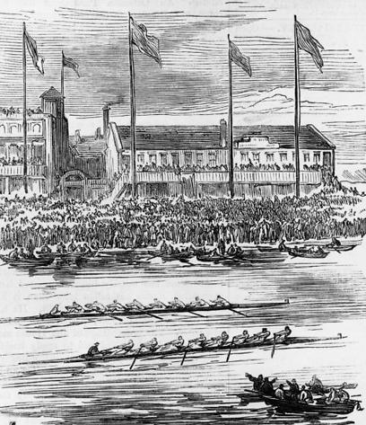 המירוץ ב-1877. התיקו הראשון והאחרון (צילום: GettyImages)