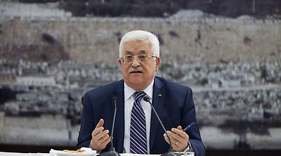 PA leader Abbas may face charges in the Hague. (Photo: AP)