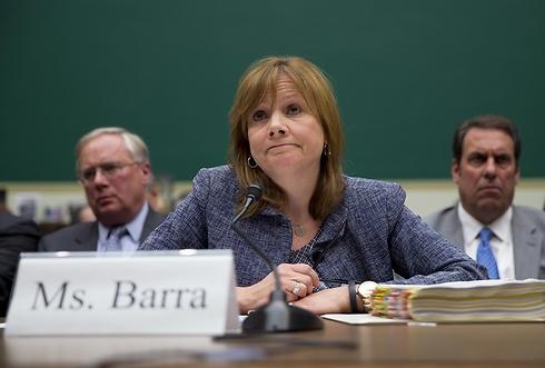 """מנכ""""ל GM, מארי בארה. תעיד בקרוב פעם נוספת בפני הקונגרס (צילום: AP) (צילום: AP)"""
