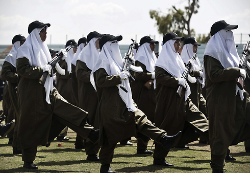Palestinian female security forces (Archive) (Photo: AFP)