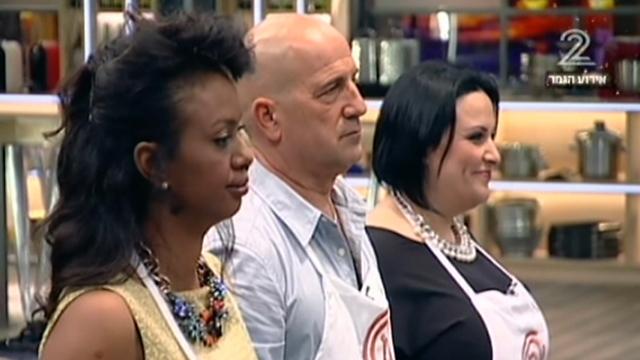 שלישיית הגמר של מאסטר שף. עונה שידה על העליונה (צילום: ערוץ 2) ()