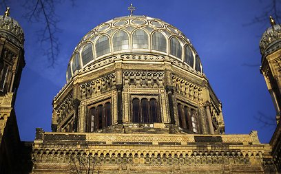 The 'New Synagogue' at the Oranienburger Strasse in Berlin (Photo: AP)
