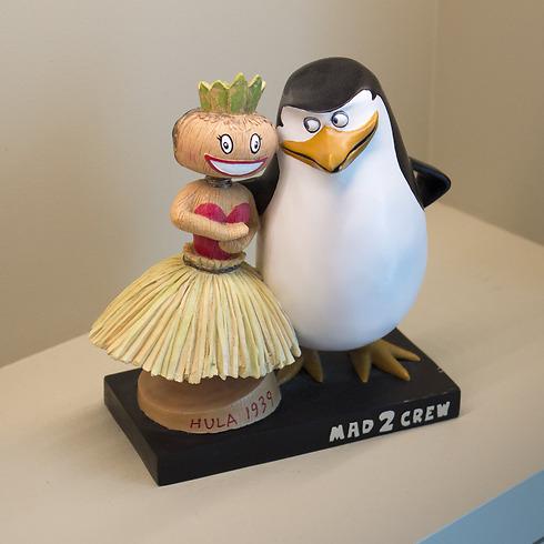 הפינגווינים ממדגסקר בלטו במיוחד ואף זכו לסדרה משלהם (צילום: שחר שושן) (צילום: שחר שושן)
