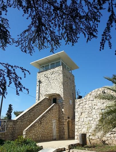 מצודת בירייה (צילום: אמנון גופר)
