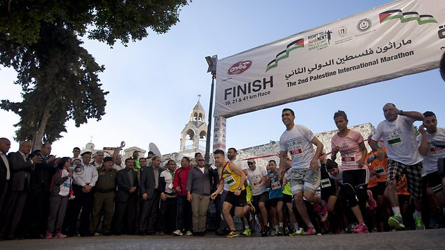 Bethlehem marathon (Photo: AP)
