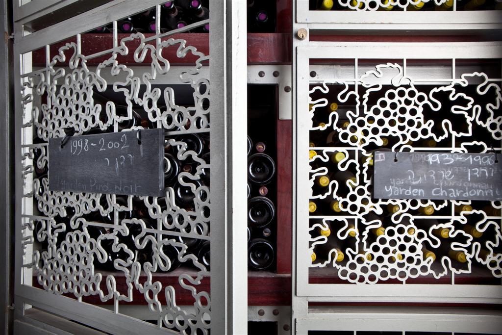אחד ממרתפי היין הגדולים בישראל. יקב רמת הגולן (צילום: כפיר חרבי) (צילום: כפיר חרבי)