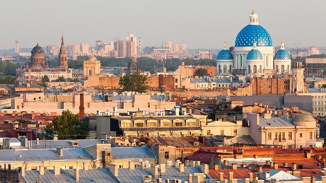 אחת הערים היפות באירופה: MUST בסנט פטרסבורג (צילום: shutterstock) (צילום: shutterstock)