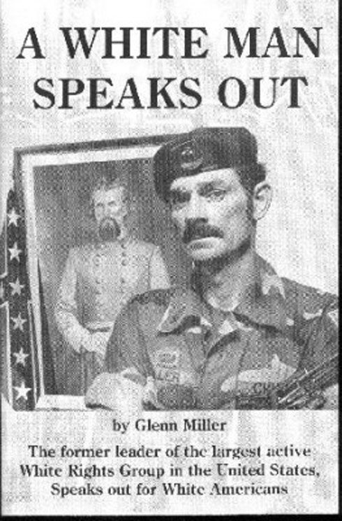 Miller's autobiography 'A White Man Speaks Out'