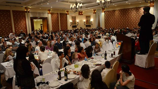 Katmandu Chabad Seder (Photo: AFP)