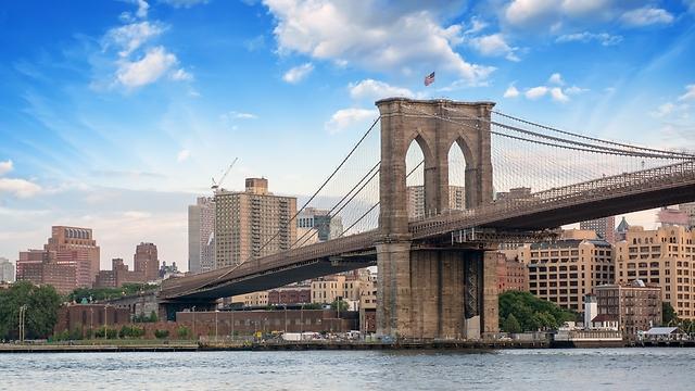 לידיעת משרד הפרסום של אמירייטס: בתמונה - גשר ברוקלין (צילום: shutterstock) (צילום: shutterstock)