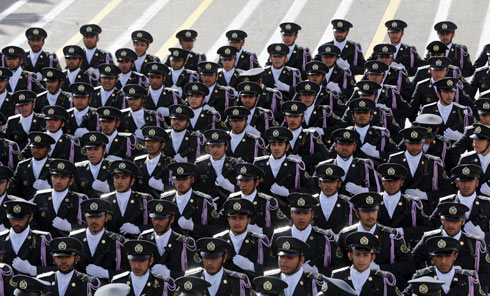 Military parade in Iran (Photo: AP)