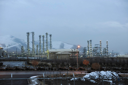 A heavy water nuclear facility near Arak, Iran. 'A Sunni Arab response to the Iranian nuclear program' (Photo: AP)
