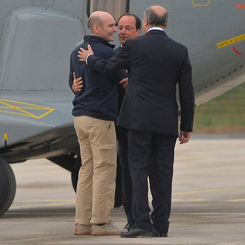 הולנד מקבל היום את פניהם של עיתונאים חטופים ששוחררו בסוריה (צילום: MCT)
