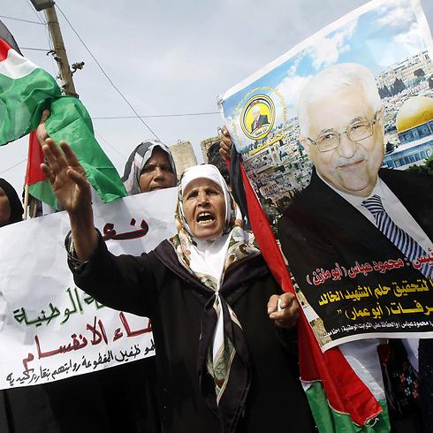 חגיגות בעזה, עם חתימת ההסכם (צילום: AFP) (צילום: AFP)
