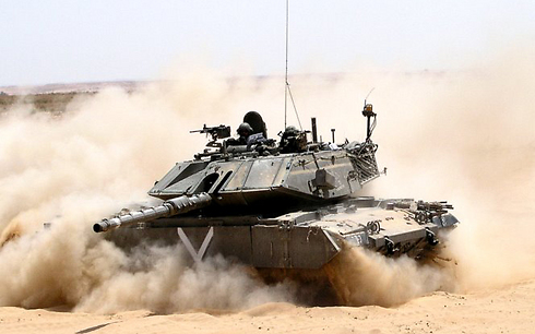 The 'Ram' in action (Photo: IDF Spokesperson's Unit) (Photo: IDF Spokesman's Unit)