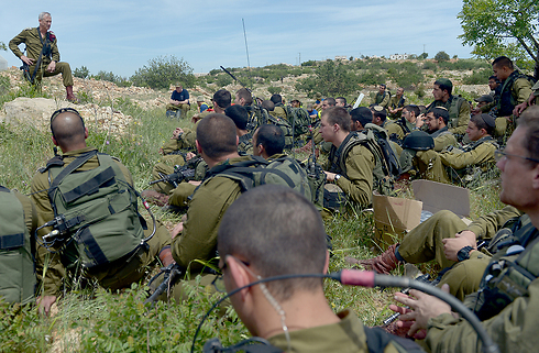 Field exercise (Photo: IDF Spokesperson's Unit) (Photo: IDF Spokesman)