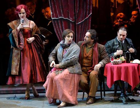 """האופרה """"לה בוהם"""". צילומים: יוסי צבקר (צילום: יוסי צבקר) (צילום: יוסי צבקר)"""