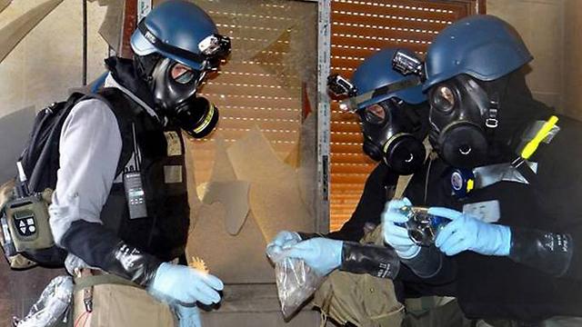 UN inspectors in Syria (Photo: AP)