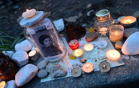 Memorial candles lit to commemorate the Holocaust in Hungary (Photo: AFP) (Photo: AFP)