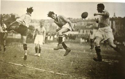 משחק בין ספרטה קרקוב למכבי קרקוב באוקטובר 1925 (באדיבות המכללה האקדמית וינגייט) (באדיבות המכללה האקדמית וינגייט)