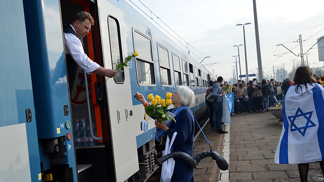The Train of the Living (Photo: Yossi Zeliger)