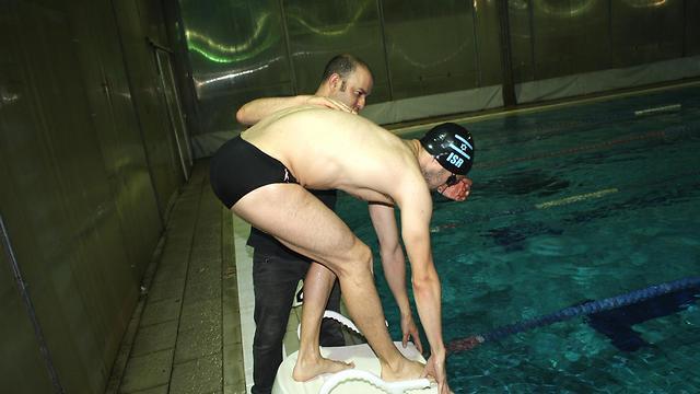 """גם ההישגים בשחייה השתפרו. גיא דר (צילום: ד""""ר איתי גל) (צילום: ד"""