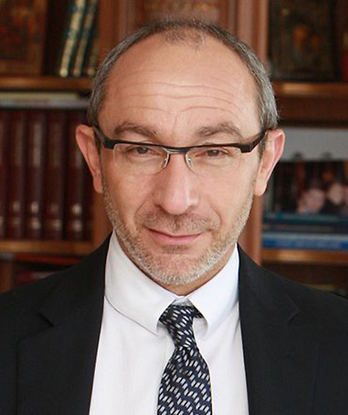 Kharkiv mayor Gennady Kernes is in Israel for medical treament for his gun wounds (Archive Photo) (Archive Photo)