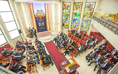 Conference of European Rabbis' standing committee meets in Strasbourg (Photo: Eli Itkin)