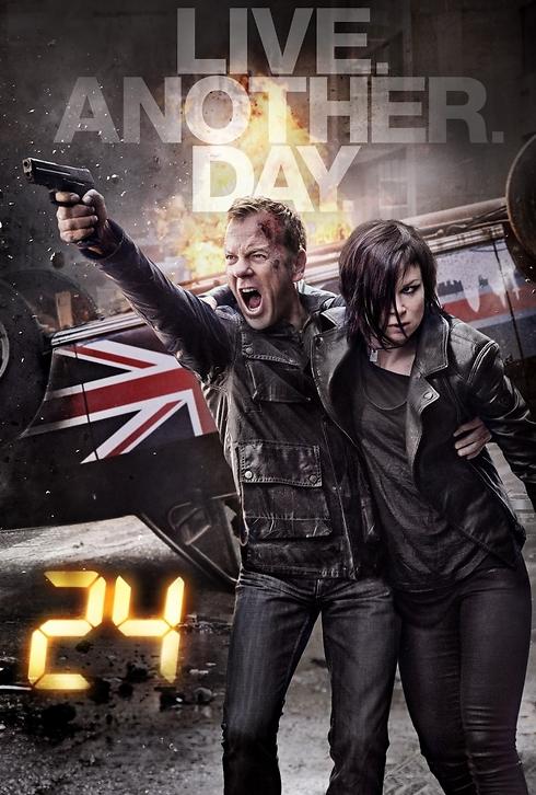 """""""24 - לחיות עוד יום"""". והפעם בלונדון (צילום: FOX) (צילום: FOX)"""