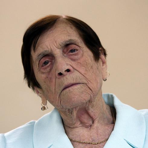 קוצ'יק. הגרמנים היכו למוות את אביה לנגד עיניה (צילום: רועי עידן)