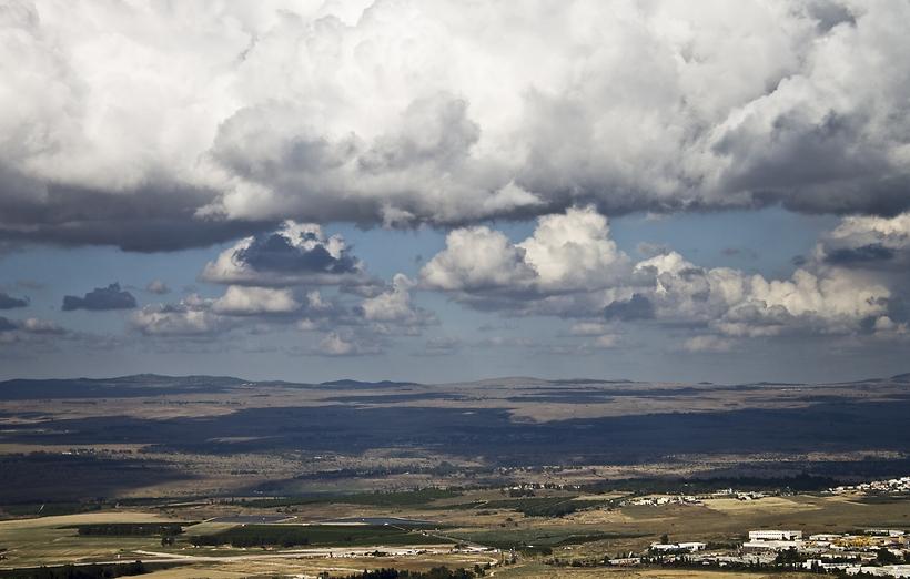 הנוף ממצפה נמרוד (צילום: חיים אמויאל)