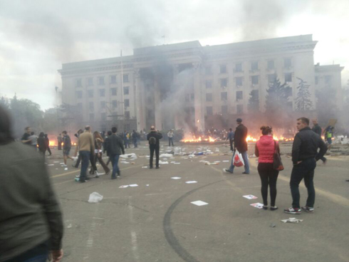 Odessa hostilities (Photo: Gonen Sivoni)
