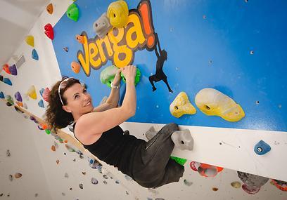 למדה לטפס על קירות. ברקוביץ' (צילום: רומי נתיב) (צילום: רומי נתיב)