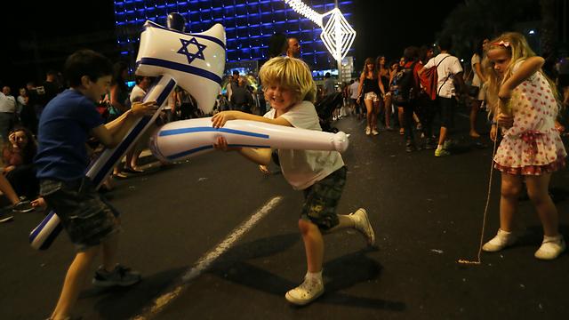 Rabin Sqaure in Tel Aviv (Photo: Yaron Brennet)