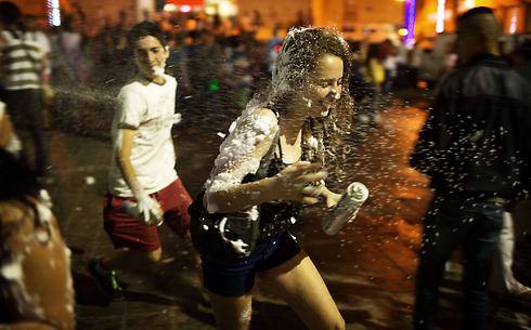 חגיגות העצמאות, אתמול בירושלים (צילום: AFP) (צילום: AFP)