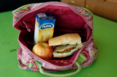 קופסת אוכל מהבית. אקוודור (צילום: AP) (צילום: AP)