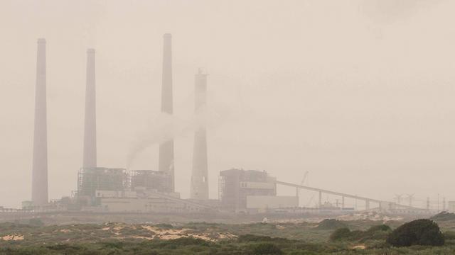 Hadera. Lower air pollution than in Tel Aviv (Photo: Ido Erez)